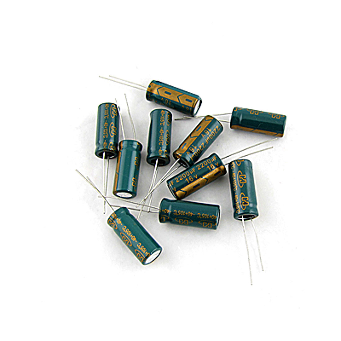 Motherboard Polarized 2200UF 16V Electrolytic Capacitor