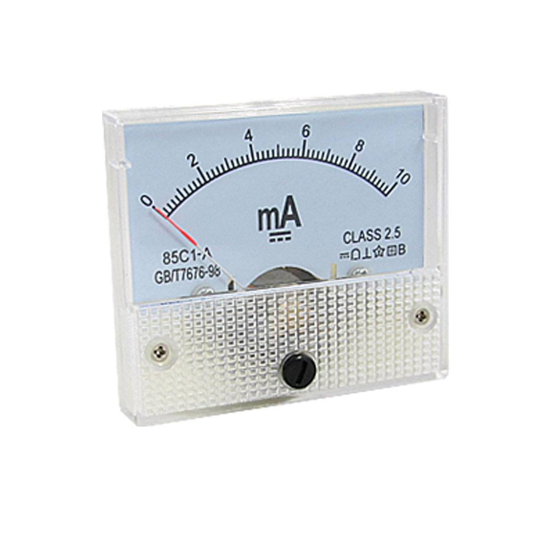 0-10mA Milliampere 85C1-A Analog Panel Meter Ammeter