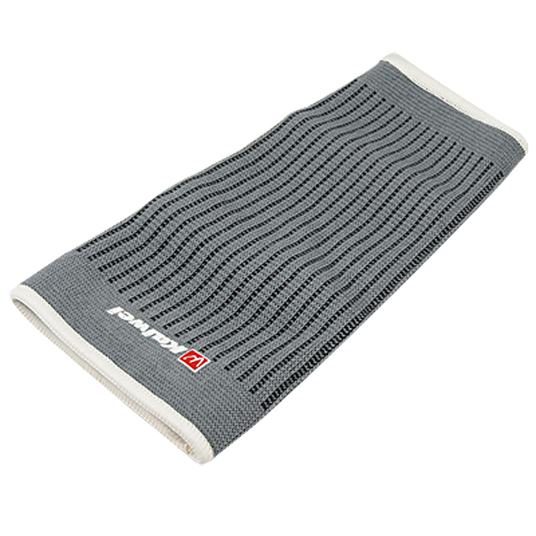 Football Backetball Stretchy Ribbed Gray Calf Pad Support