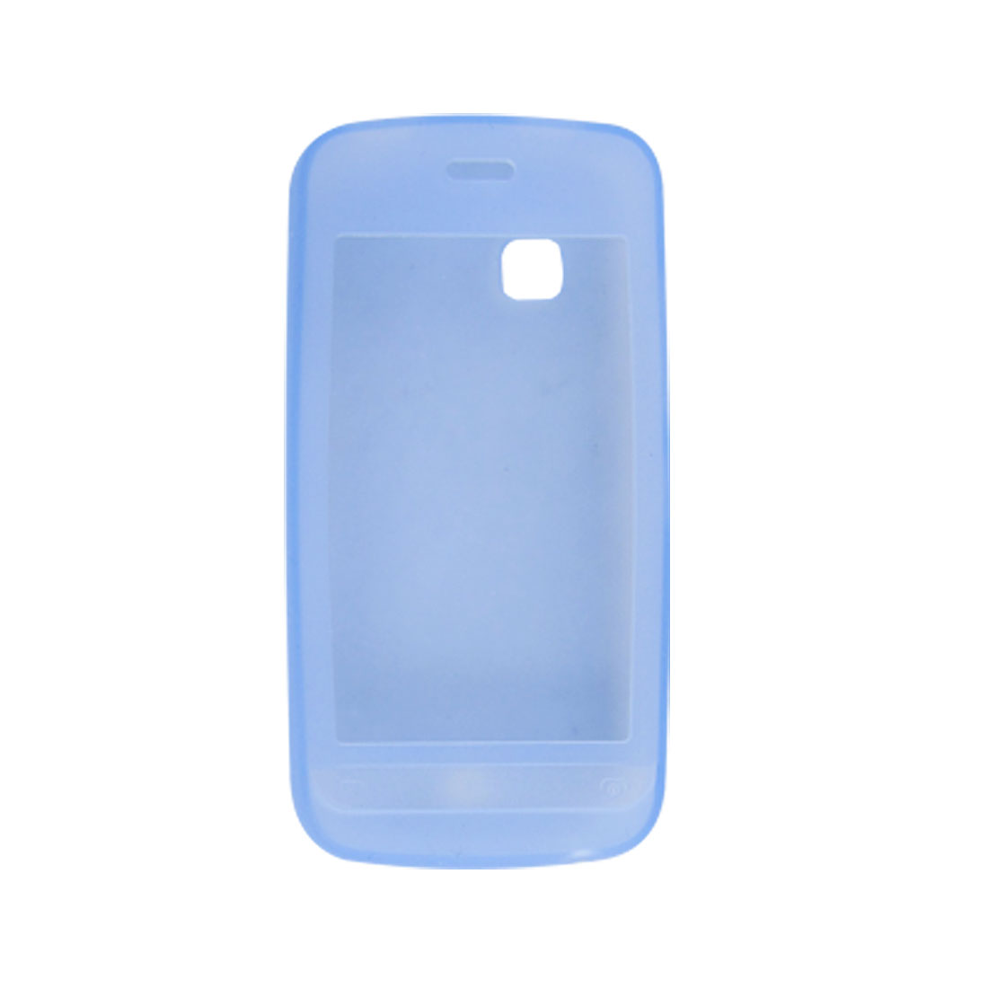 Protective Soft Silicone Blue Cover for Nokia C5-03