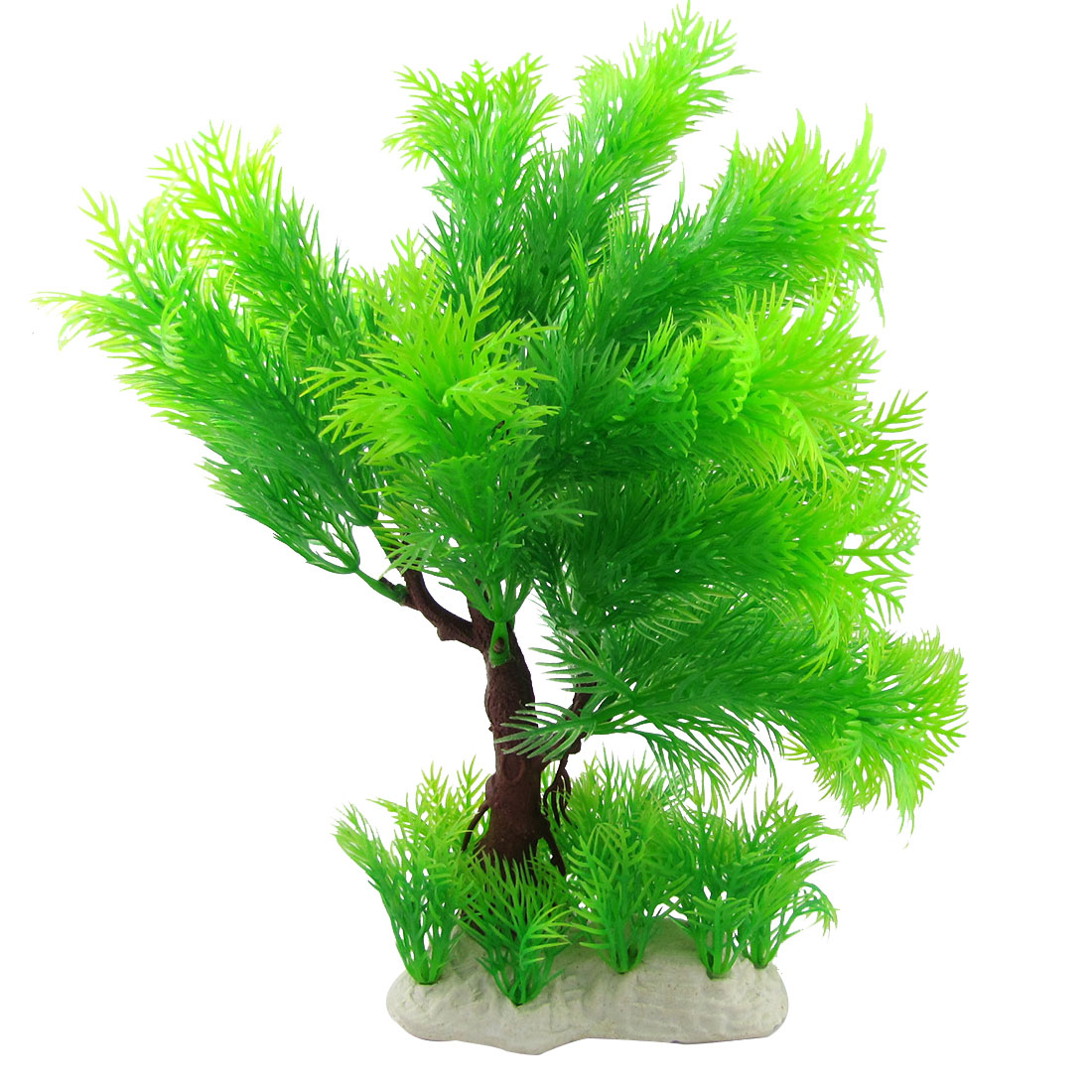 Aquarium Aquascaping Evergreen Coniferous Pine Tree Plastic Decorative Plant