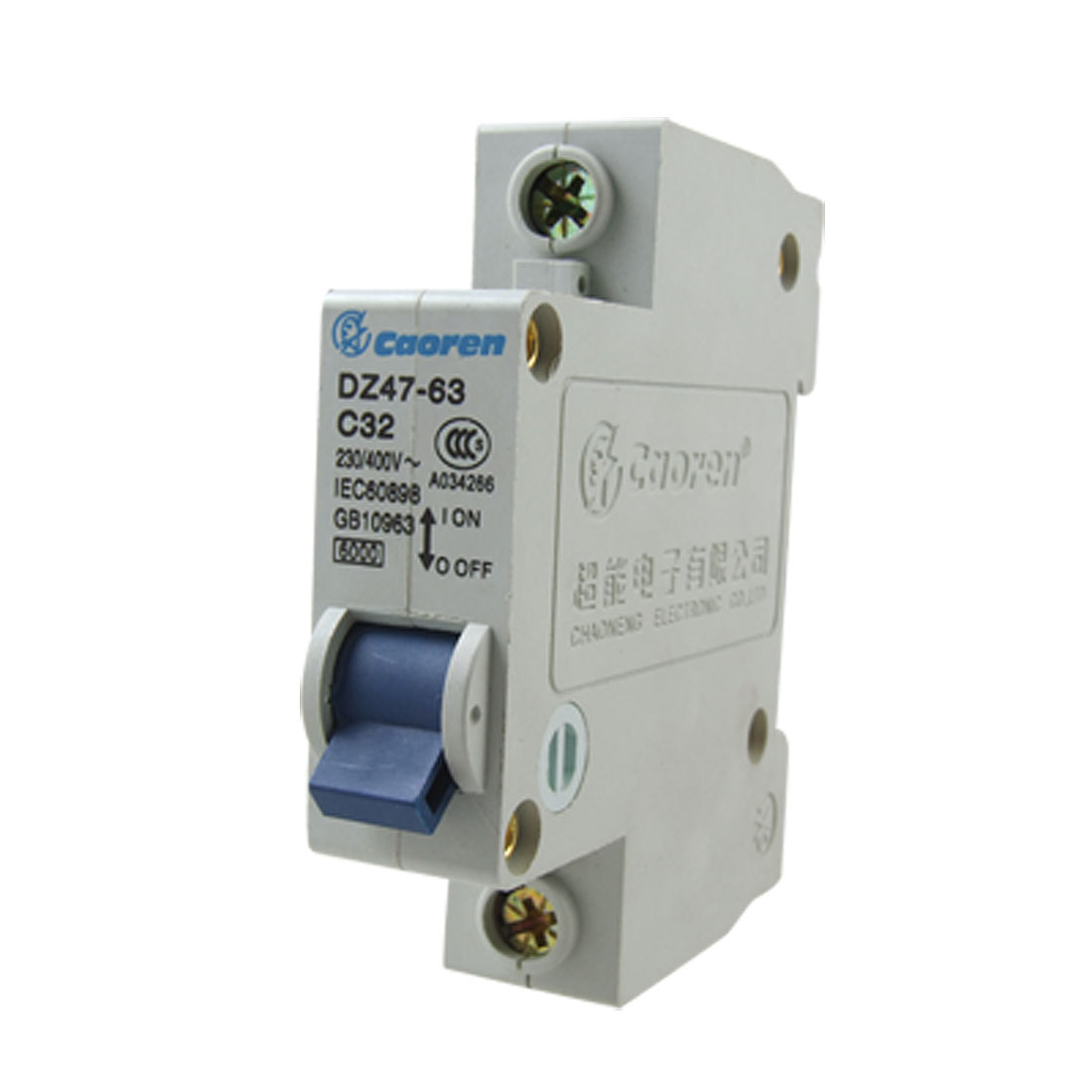 Single Pole 32a Miniature Circuit Breaker 230-400V