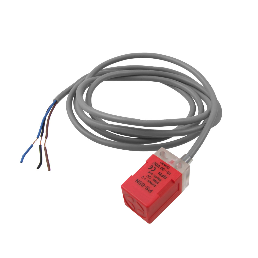 DC 10-30V 200mA NPN NO 5mm Inductive Proximity Sensor Approach Switch PS-05N