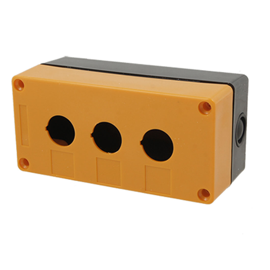 Control Station 3 Switch 22mm Push Button Protector Box