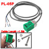 PL-05P 3-Wire DC10-30V 200mA 5mm Inductive Proximity Sensor Switch Detector PNP NO