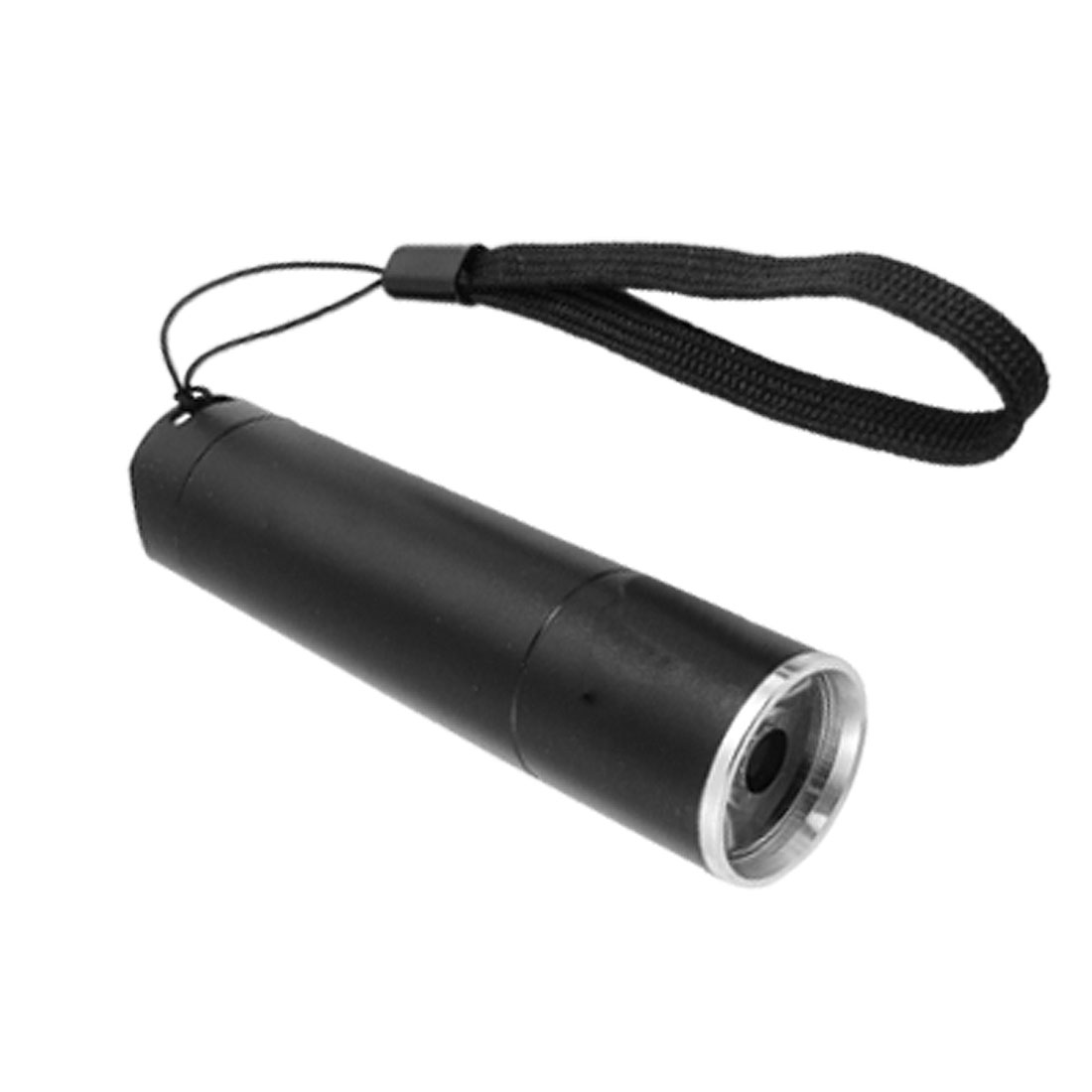 Portable 3 AAA Battery Operated Black Flashlight Torch