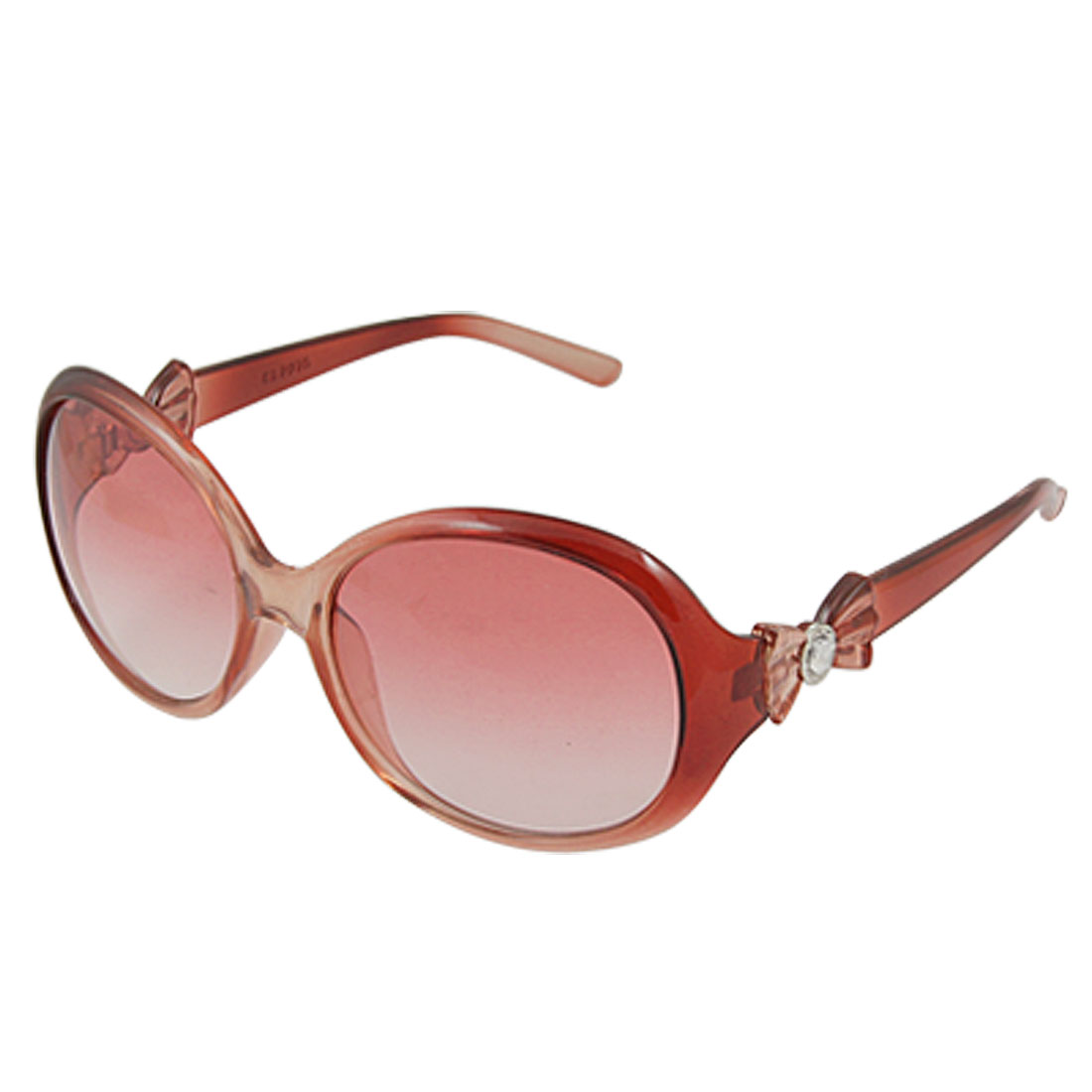 Ladies Plastic Full Frame Big Oval Lens Sunglasses