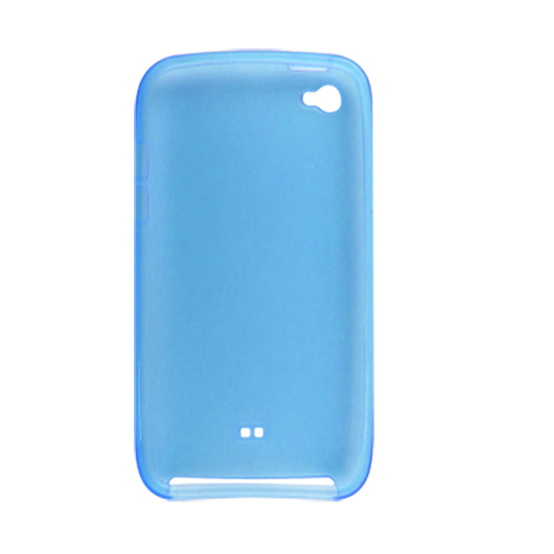 Clear Sky Blue Soft Plastic Cover Case for iPod Touch 4G