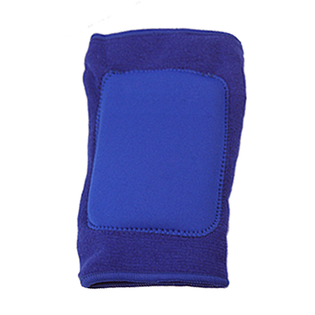 Volleyball Sports Blue Elastic Elbow Support w Sponge Padding