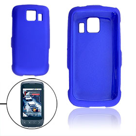 Detachable Hard Plastic Blue Case Cover for LG LS670