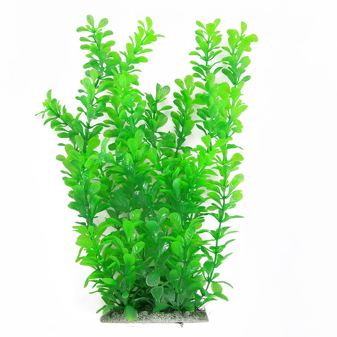 "12"" Green Water Plastic Plant Decoration for Aquarium Fishbowl Fish Tank"