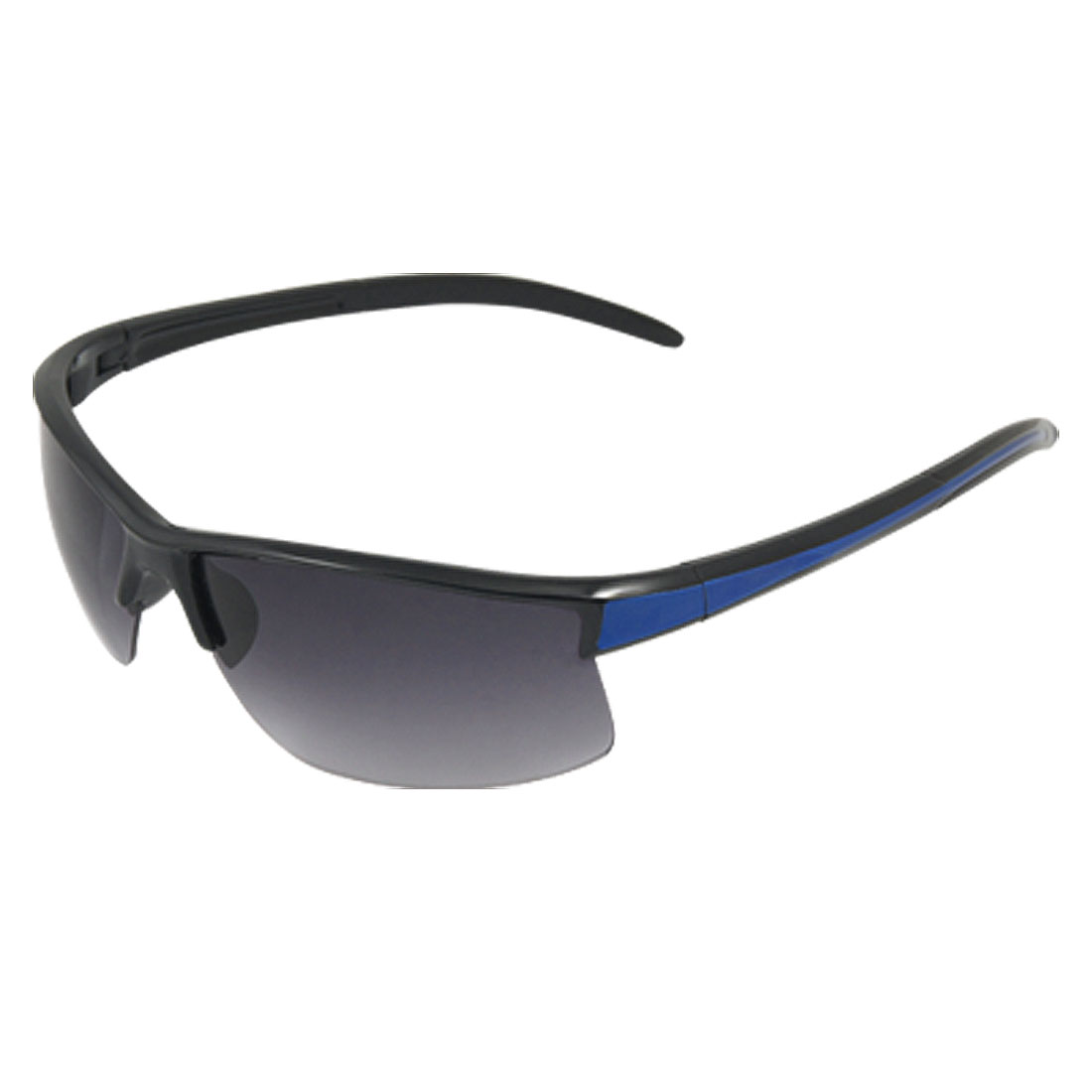 Unisex Semi Rim Blue Detailing Skiing Beach Sunglasses