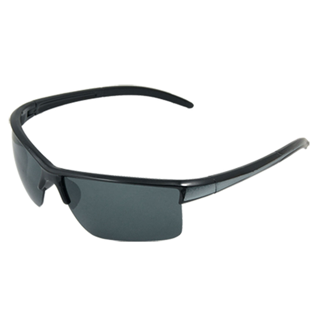Rectangle Lens Unisex Semi Rim Skiing Beach Sunglasses
