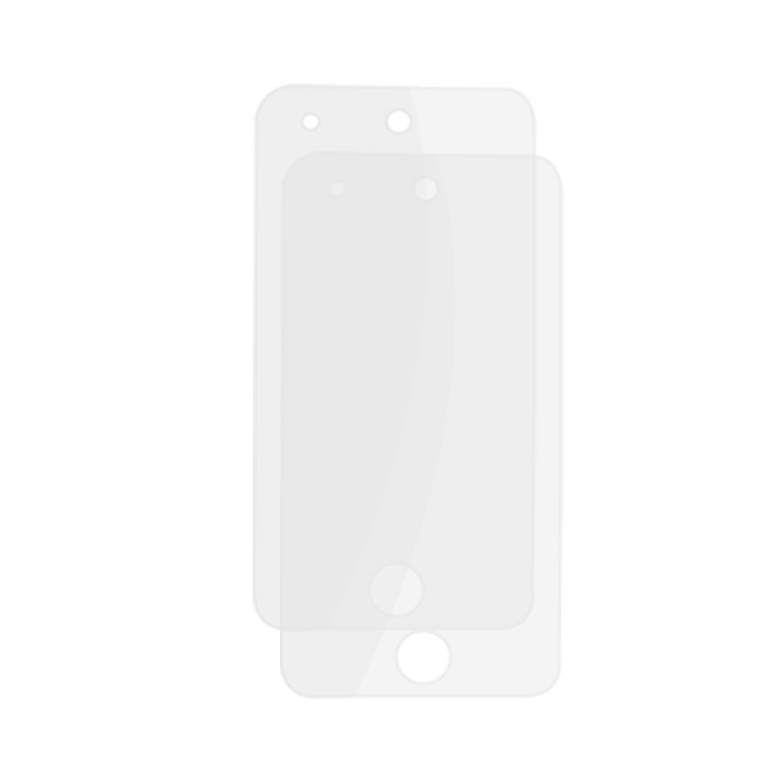 2 Pcs Clear Plastic Screen Protector for iPod Touch 4