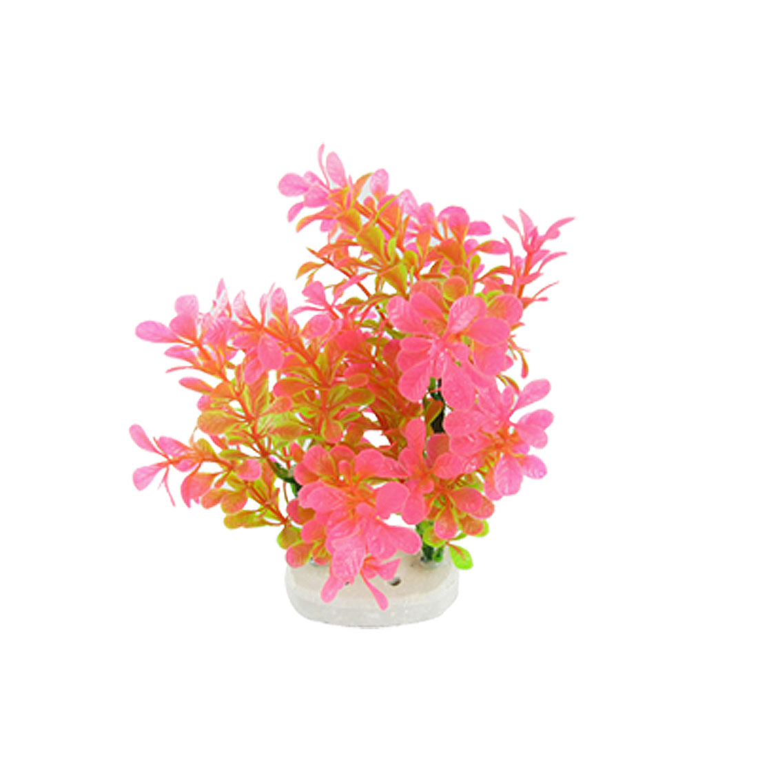 Aquarium Fish Tank Plastic Two-tone Lobelia Cardinalis Plants Decoration