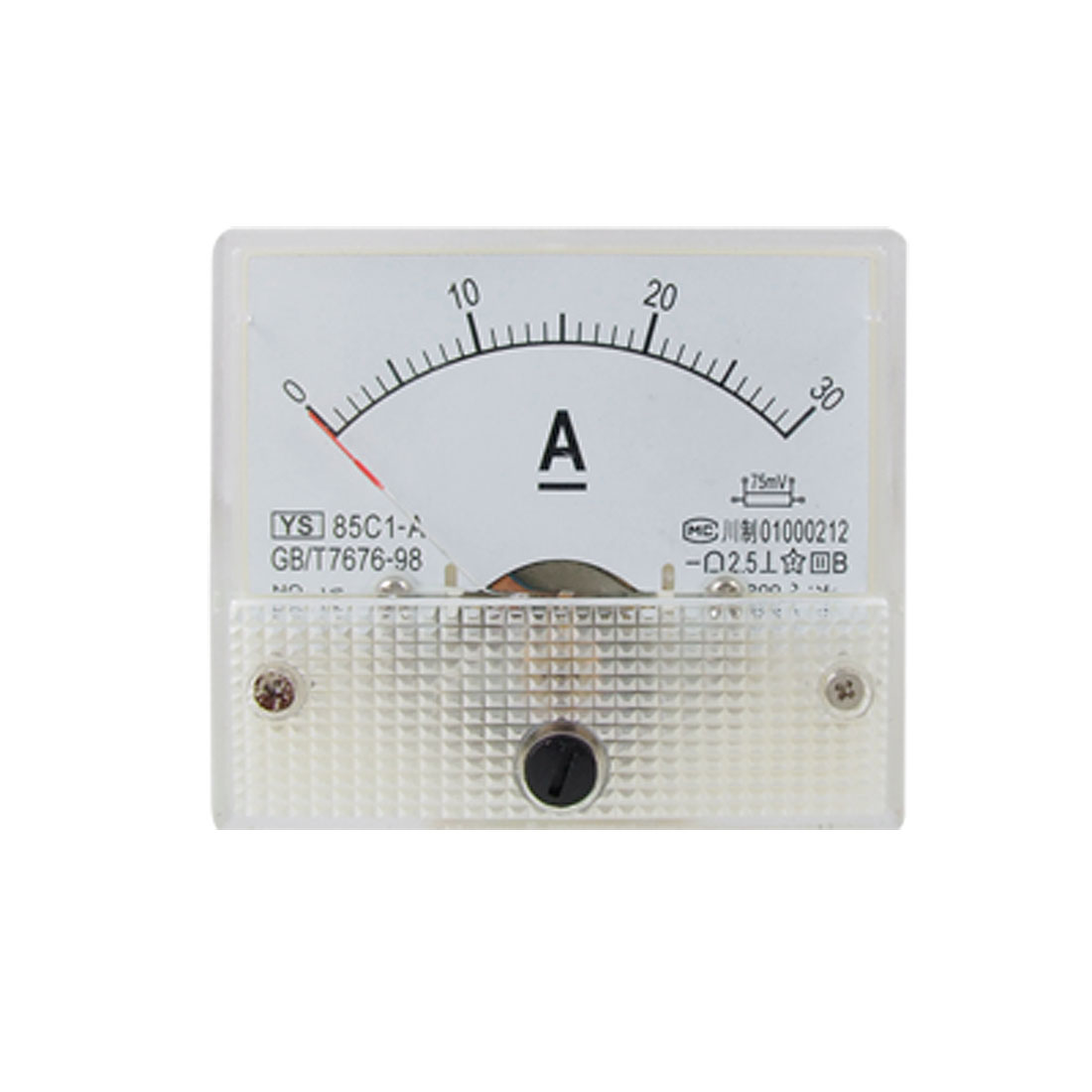 85C1-A Analog Current Panel Meter DC 30A Ammeter