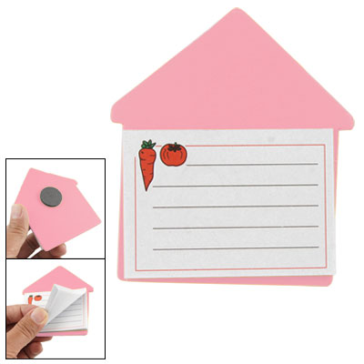 Magnetic Pink Arrow Shaped Board 40 Pages Memo Note Pad