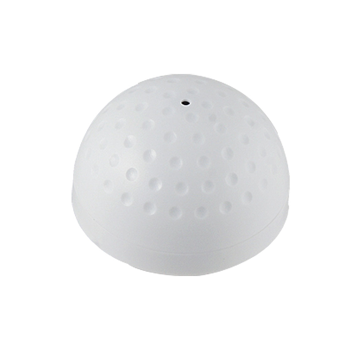 White Half Ball Pick Up Sound Monitor for CCTV System