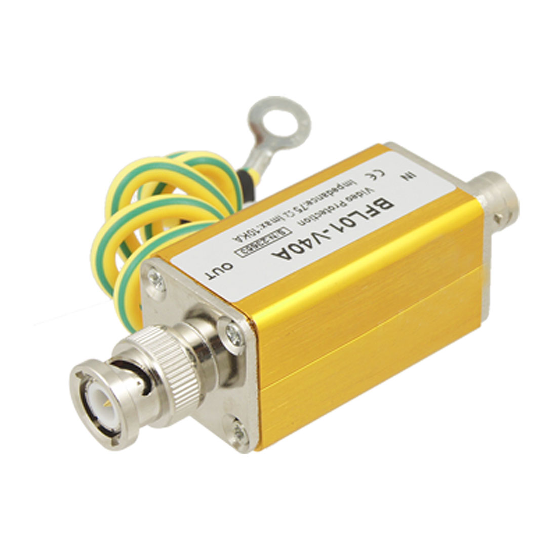 Video Coaxial BNC Male to Female Surge Lightning Arrester Protector