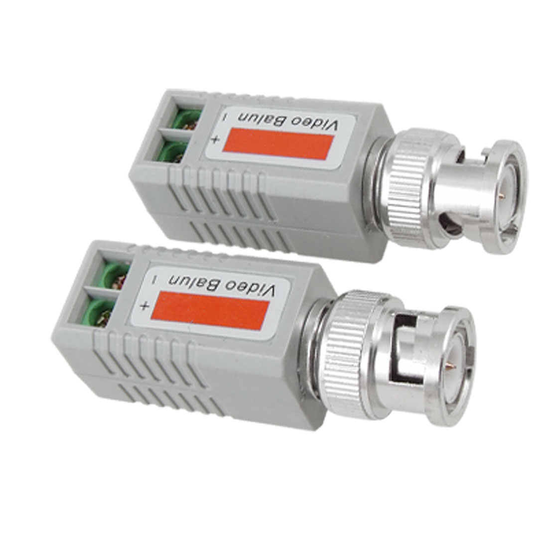 Coax CAT5 CCTV Security Camera Male BNC Passive Video Balun Transceiver 2 Pcs