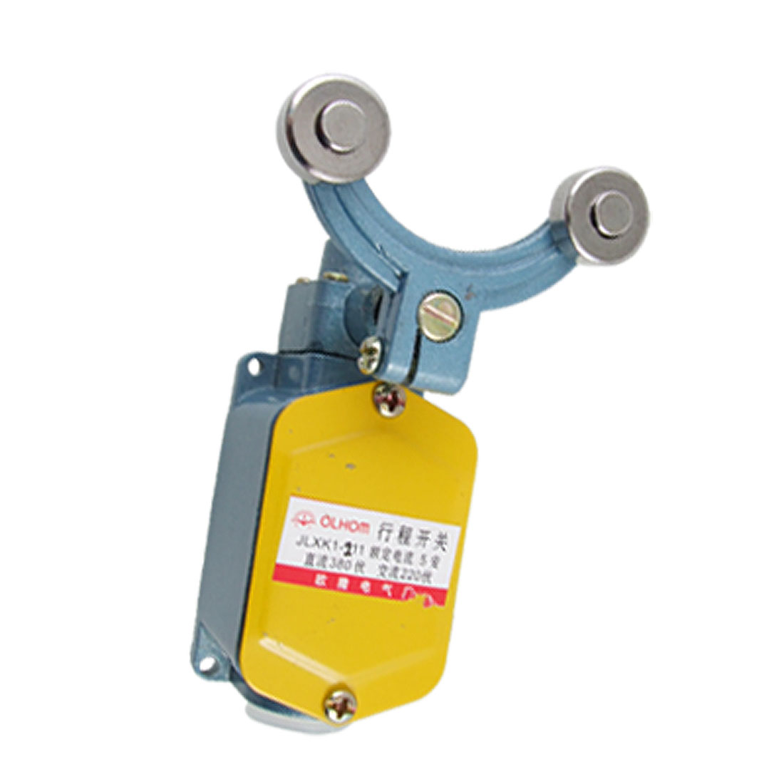 JLXK1-211 Momentary Double Rotary Roller Lever Arm Enclosed Limit Switch