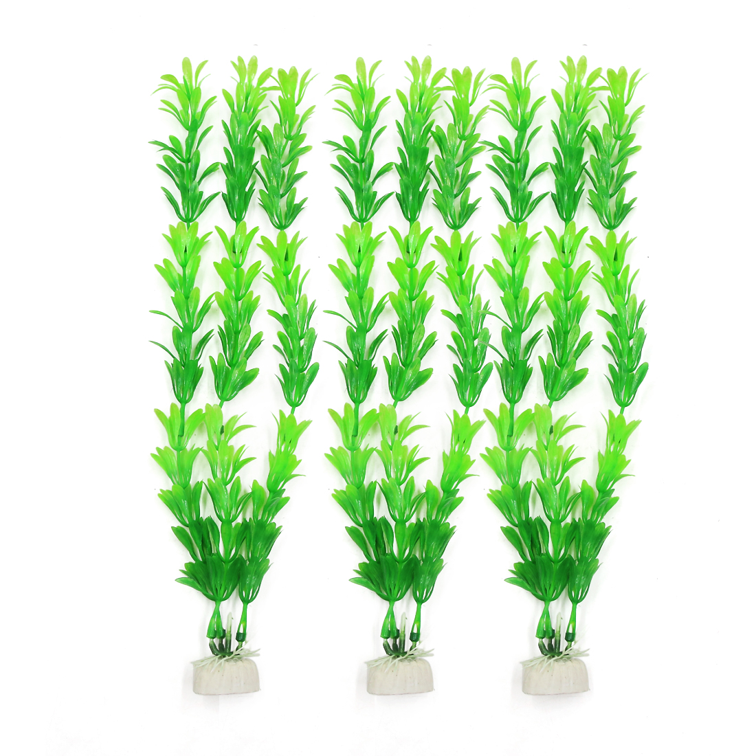 Aqua Landscape 3 Pcs Green Artificial Rotala Rotundifolia Plant for Betta Tank
