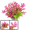 Fish Tank Artificial Amaranth Dwarf Plastic Plant Ornament
