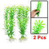 "Green Plastic Plant 8.3 ""Underwater Decor Aquarium"