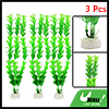 Landscape 3 Pcs Green Artificial Rotala Rotundifolia Plant for Betta Tank