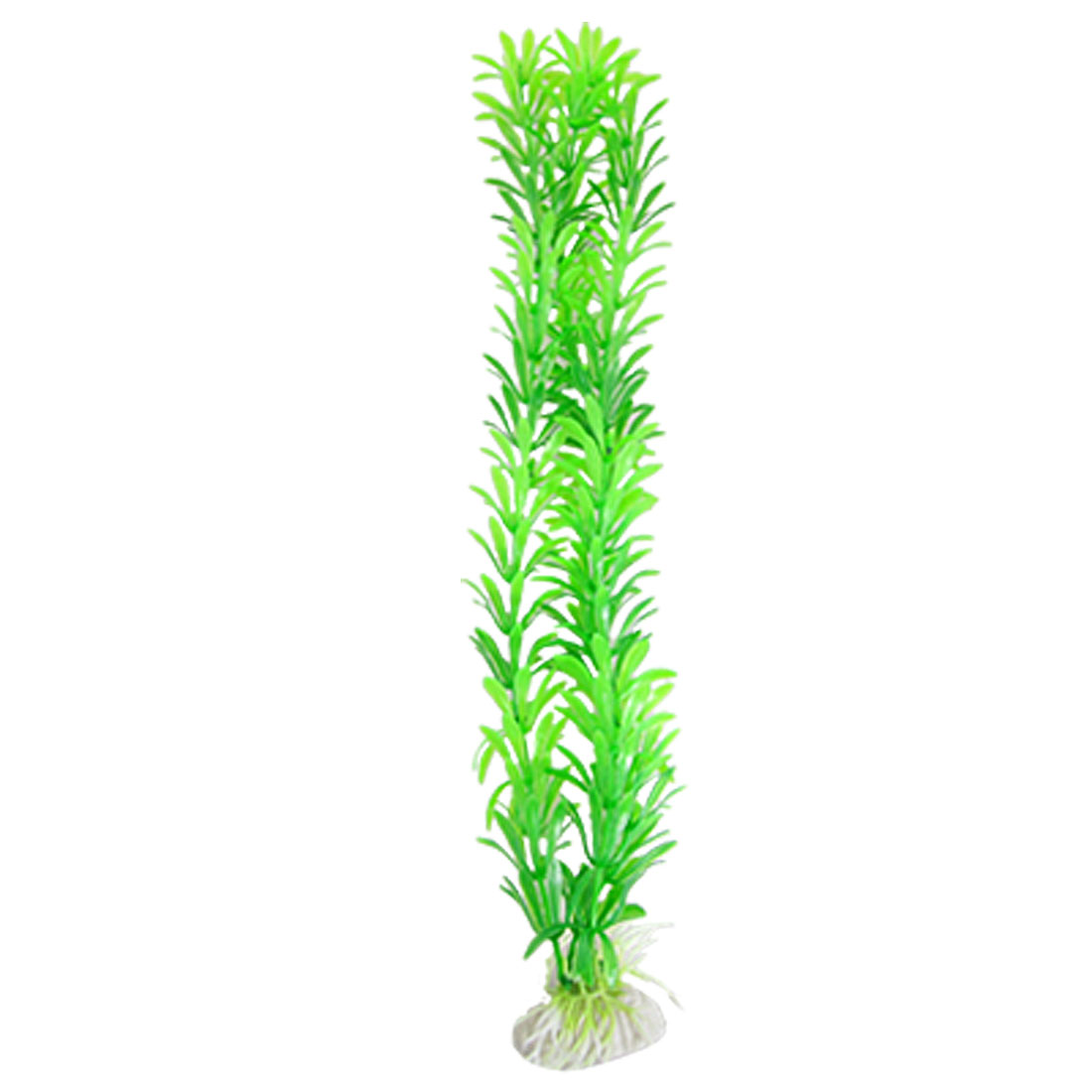 "Aquarium Fish Tank 14.2"" Plastic Green Plants Decoration"