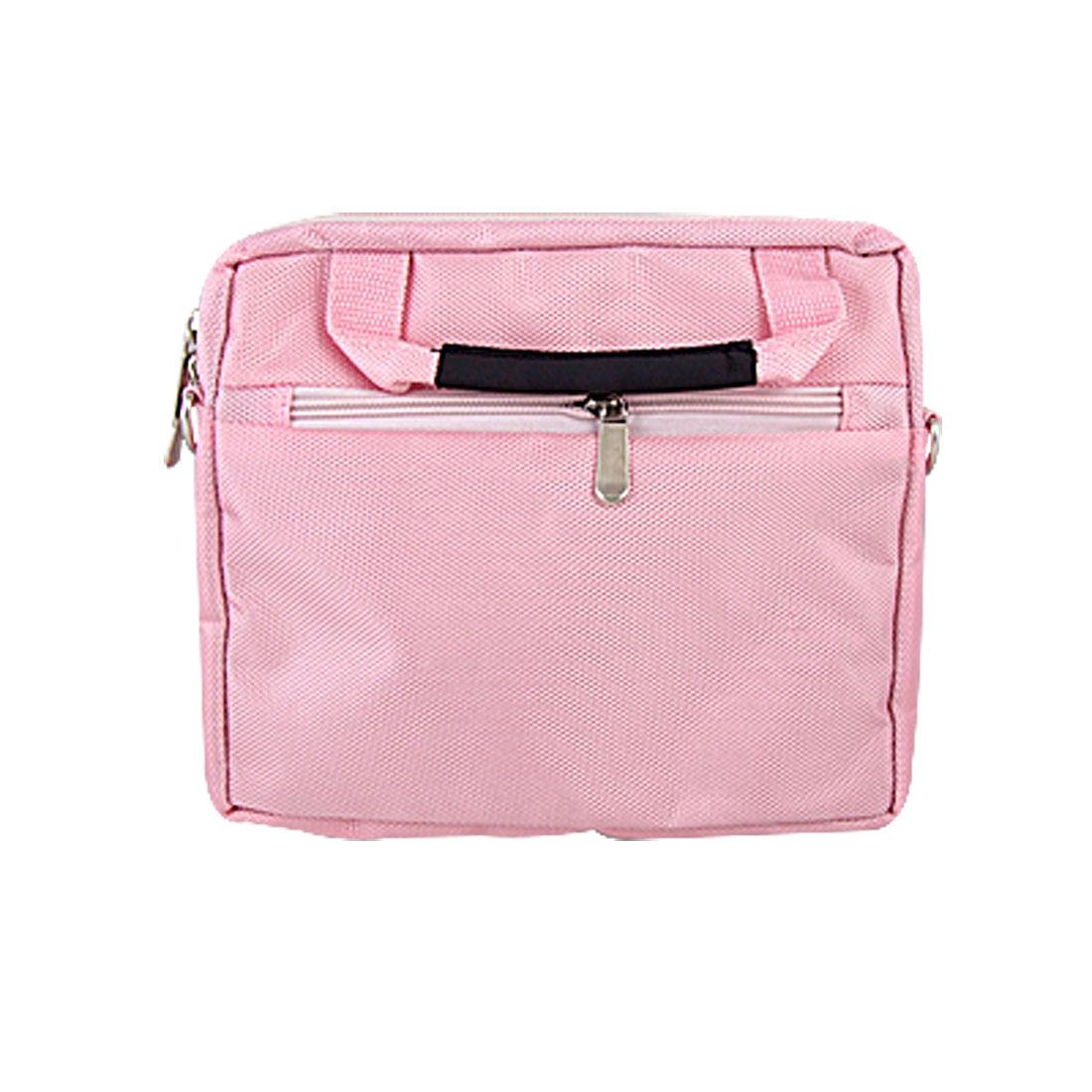 """8.9"""" 10"""" 10.1"""" Pink Notebook Laptop Shoulder Bag + Handle"""
