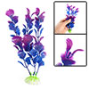 Aquarium Artificial Purple Blue Plasic Plants Decoration