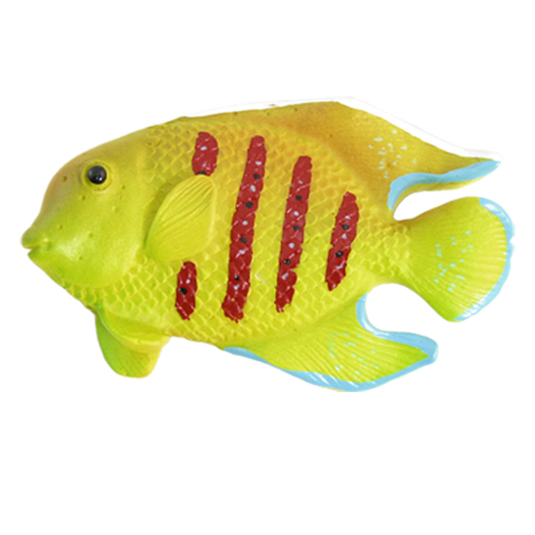 Tropical Fish Shape Resin Fridge Magnetic Sticker Yellow