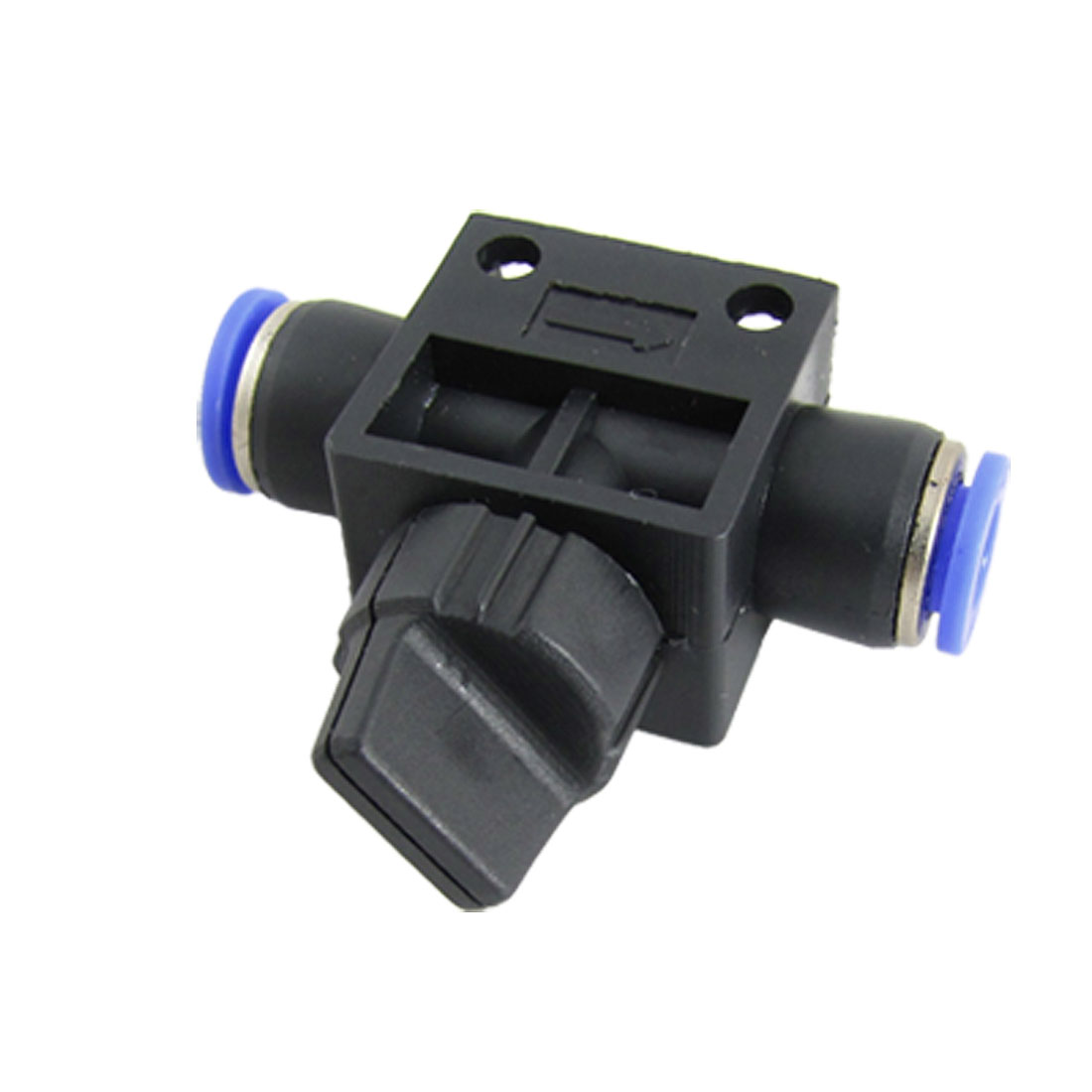 6 x 6mm One Touch Fitting Pneumatic Connector Hand Valve