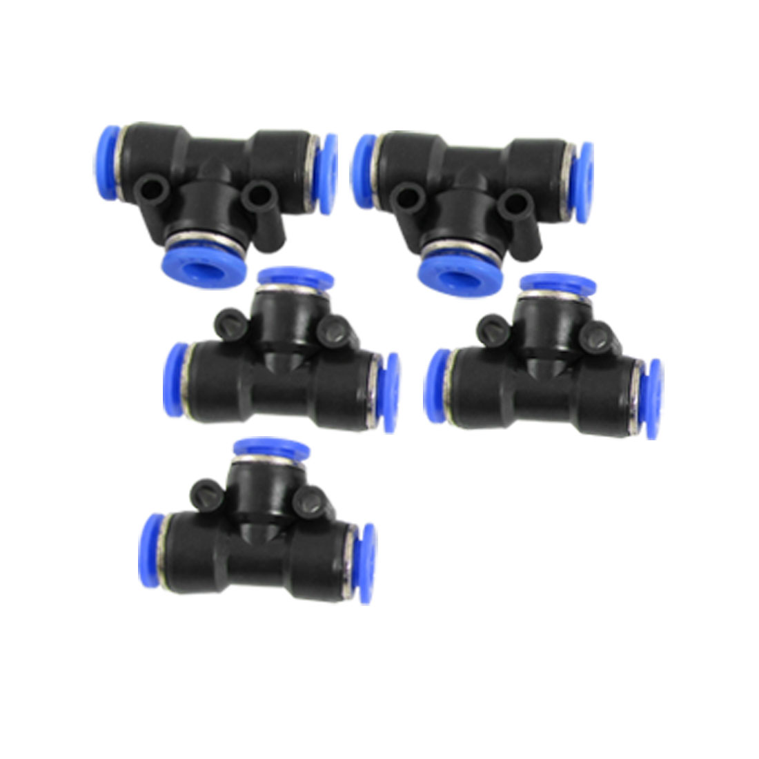 5 Pcs 6mm Quick Connector One Touch Pneumatic Fittings