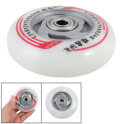 Off White Rolling Wheel for Roller Skating Shoes