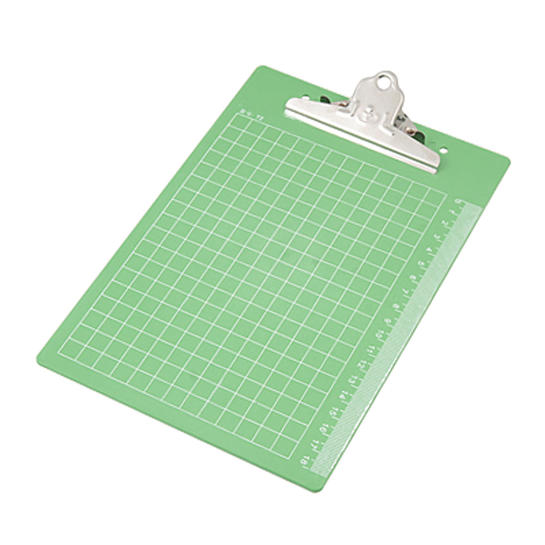 Green Plastic Restaurant Memo Paper Holder Writing Clipboard