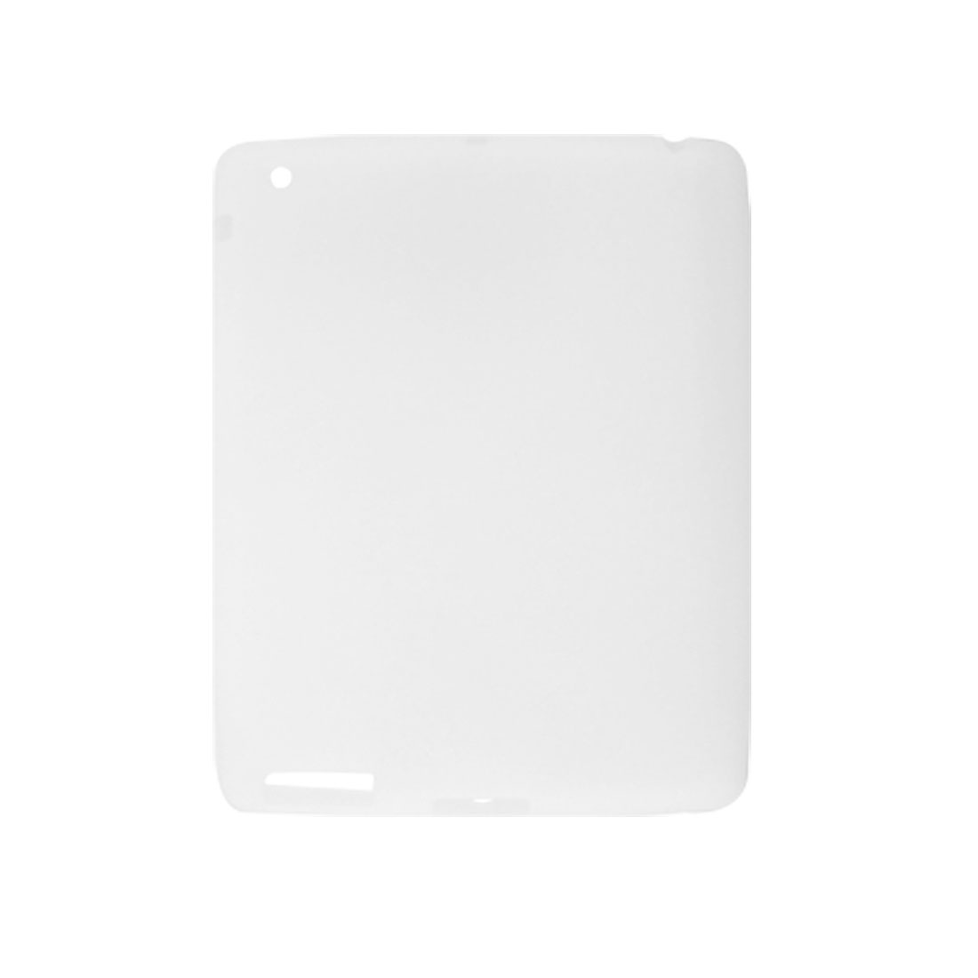 White Protective Silicone Skin Shell Cover for iPad 2G