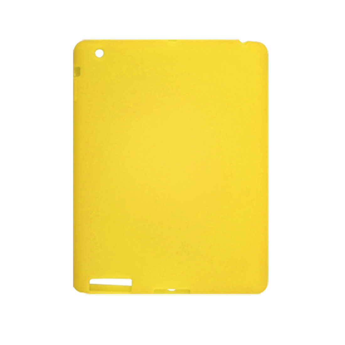 Silicone Yellow Protector Cover for Apple iPad 2G