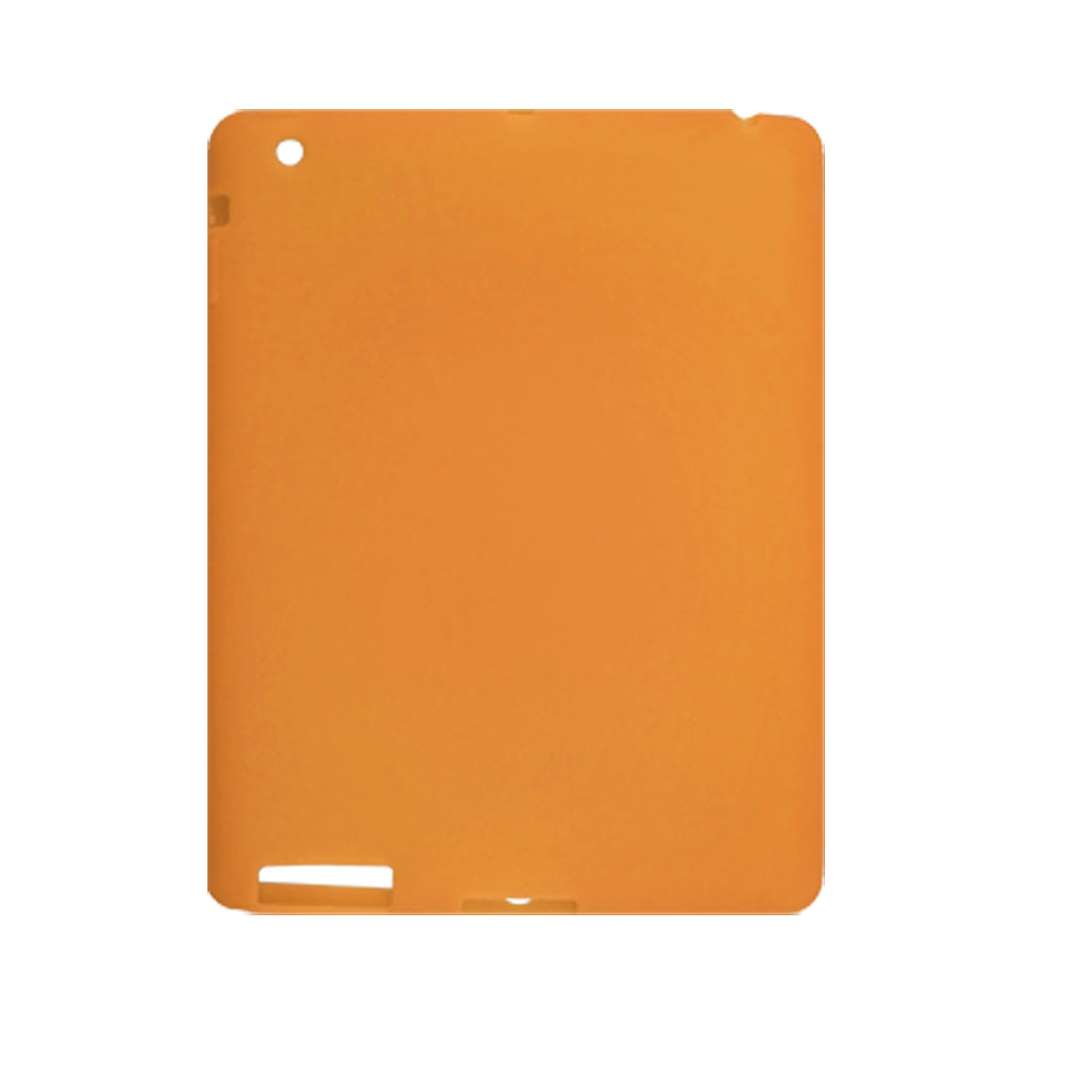 Orange Protective Silicone Skin Case Shell for iPad 2G