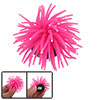 Aquarium Tank Hot Pink Silicone Sea Anemone Ornament