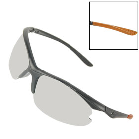 Cut Out Arms Half Rim Sports Mirror Lens Sunglasses for Unisex