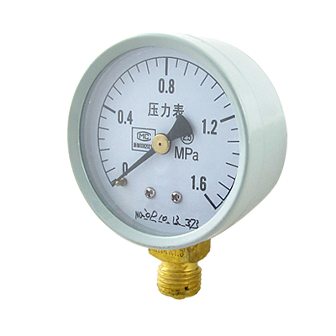 Replacement 0-1.6 Mpa Class Round Water Air Pressure Gauge