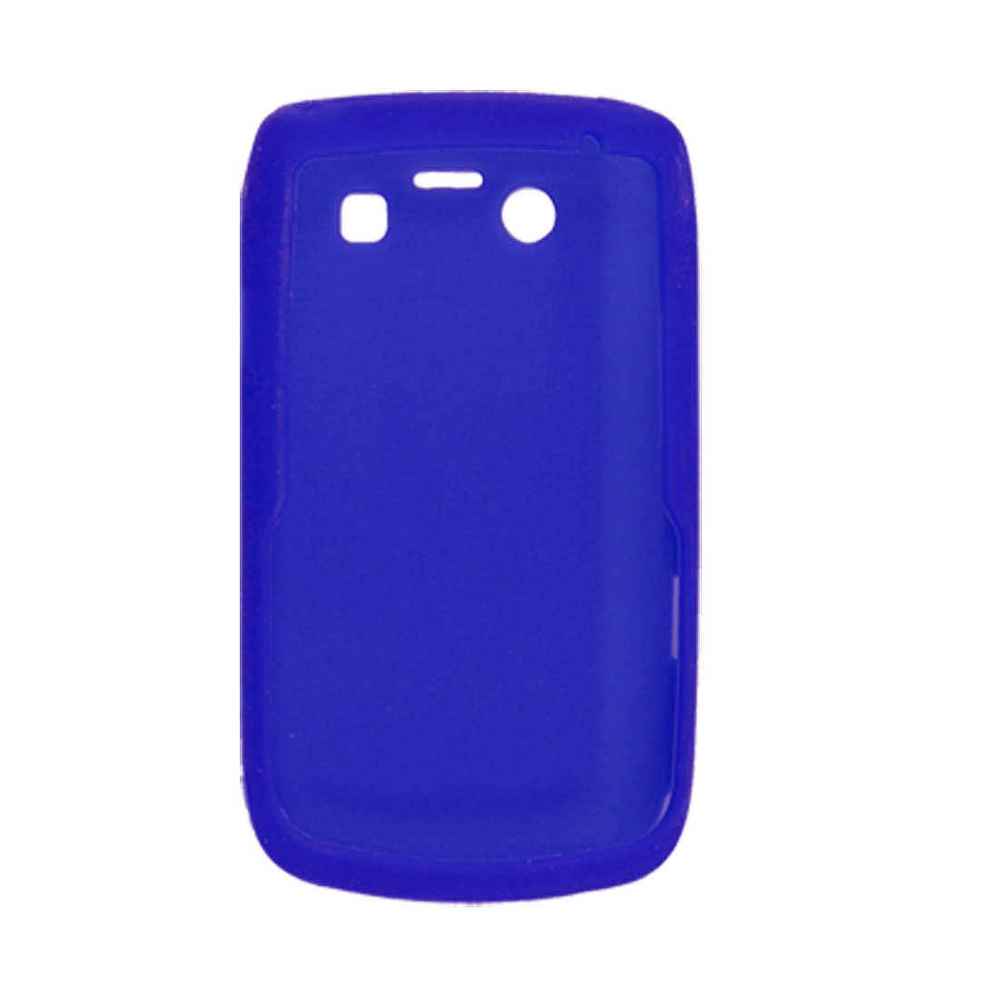 Blue Protective Silicone Skin Case for BlackBerry 9700 9020