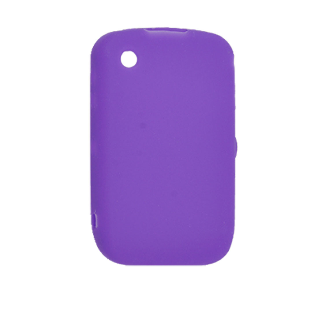 Protective Purple Silicone Cover Case for Blackberry Curve 8520