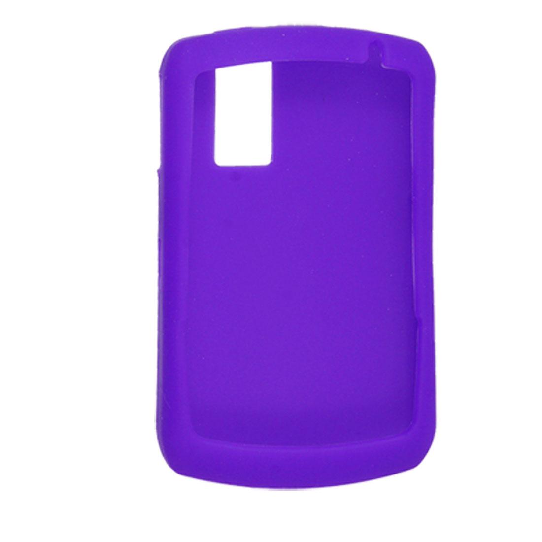 Purple Silicone Case Protector for BlackBerry 8300 8310 8320