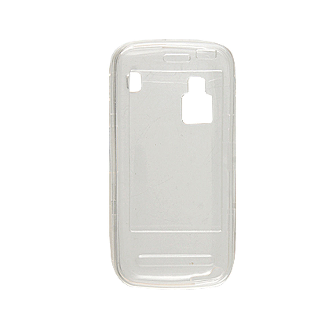 Detachable Clear Soft Plastic Case Guard for Nokia C6
