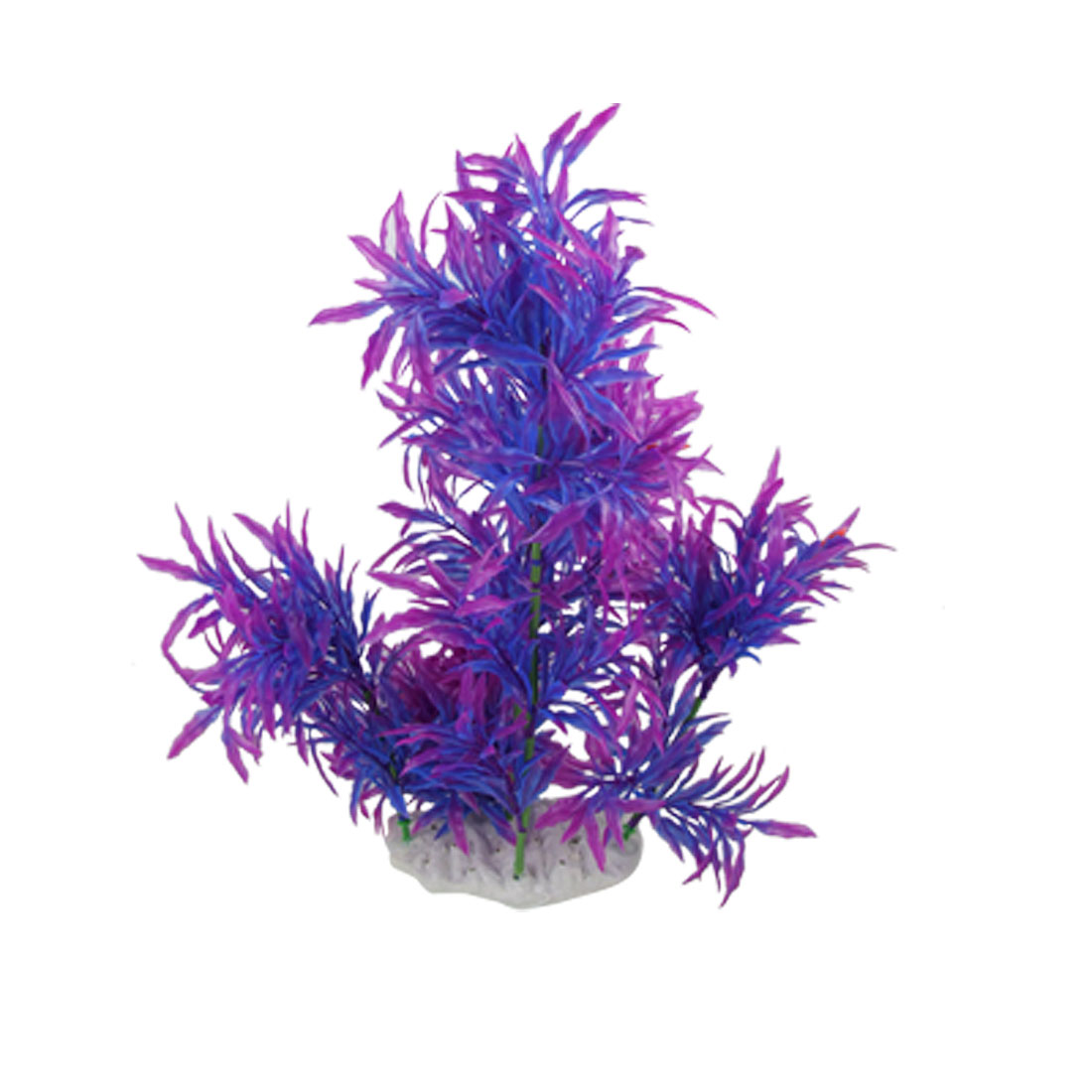 "15"" High Plastic Ludwigia Aquatic Plant for Fish Tank Decor"