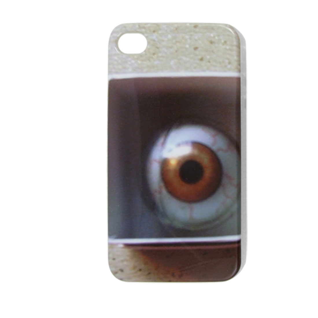 Eyeball Print IMD Hard Plastic Back Cover for iPhone 4 4G