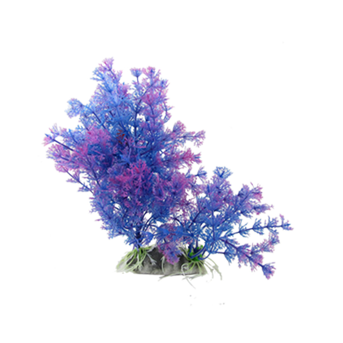 Indigo Blue Aquascaping Plants Ornament for Fish Tank